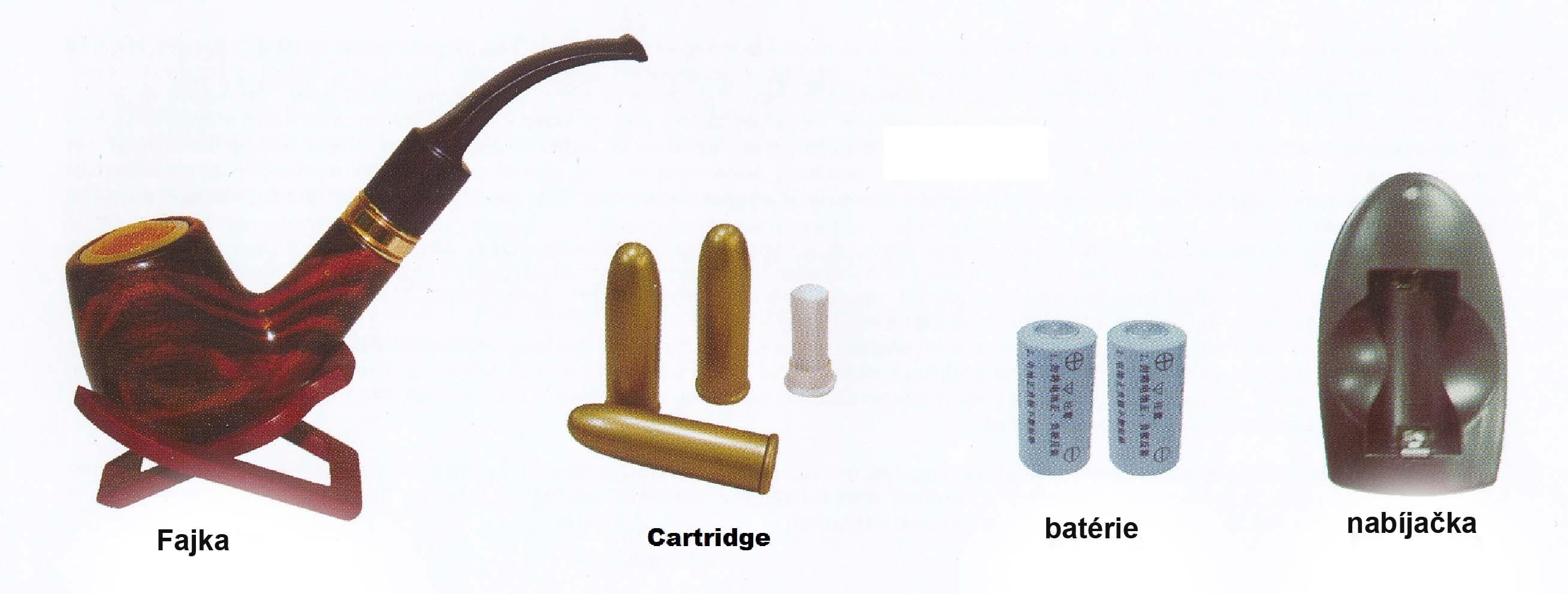 obsah balenia elektronickej fajky Pipe 601 v distribúcií Zdravé fajčenie/e-smokes.eu