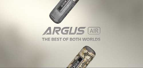 VooPoo Argus Air the best electronic cigarette