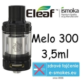 iSmoka - Eleaf Melo 300 clearomizer 3,5 ml - čierny