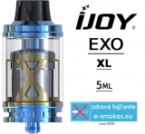IJOY  clearomizer EXO XL Sub Ohm 5 ml - modrý
