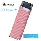 Joyetech elektronická cigareta eGo AIO Mansion 1300mAh - rose gold
