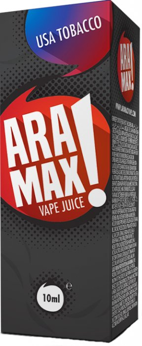 e-liquid ARAMAX USA tobacco 10ml - 12mg