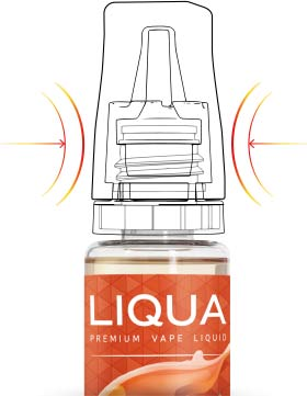 LIQUA Elements Blackberry (černica) 10ml 0mg nikotínu