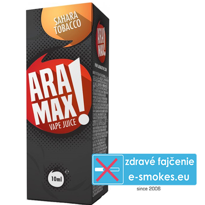 e-liquid ARAMAX Sahara Tobacco 10ml (6mg nikotínu/ml)