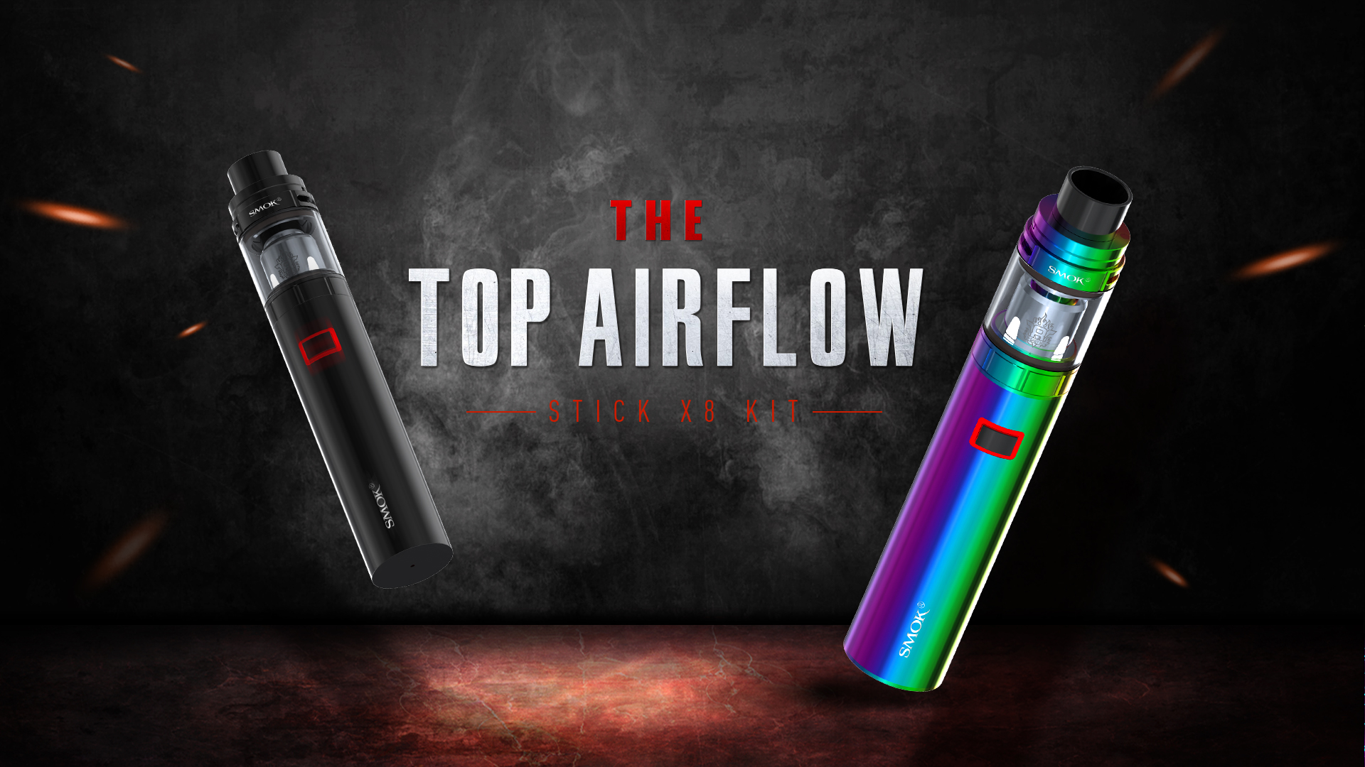 Smoktech Stick X8 3000mAh - rainbow