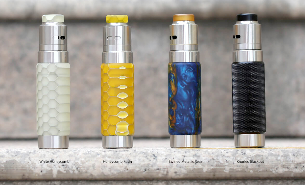 Wismec Reuleaux RX Machina grip full kit - Knurled Blackout