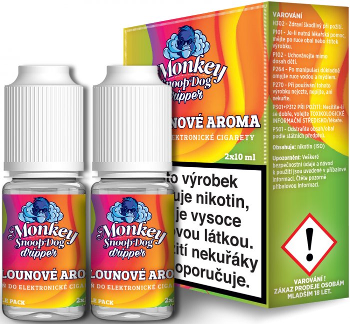 Monkey SnoopDog Dripper 2Pack Melon 2x10ml 12mg