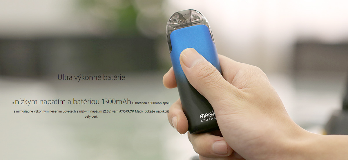 Joyetech elektronická cigareta ATOPACK Magic 1300mAh - Phantom blue