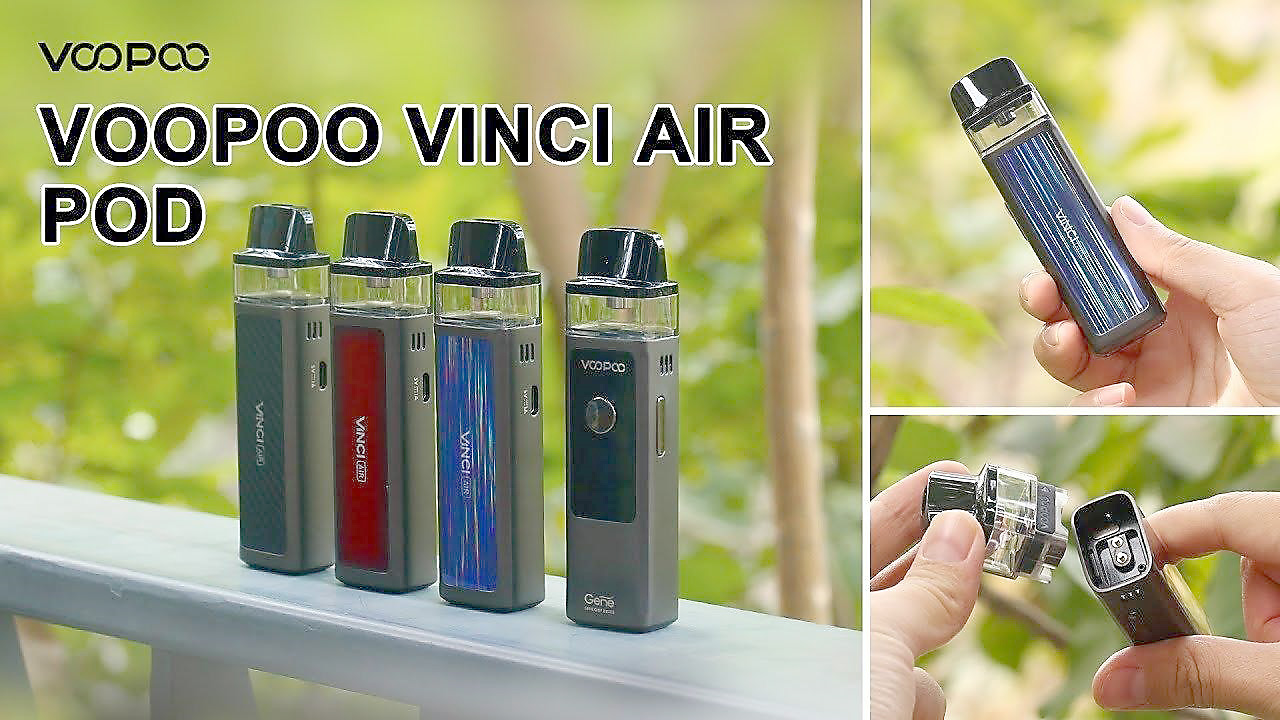 VooPoo Full Kit VINCI AIR 30W 900mAh - Classic Red