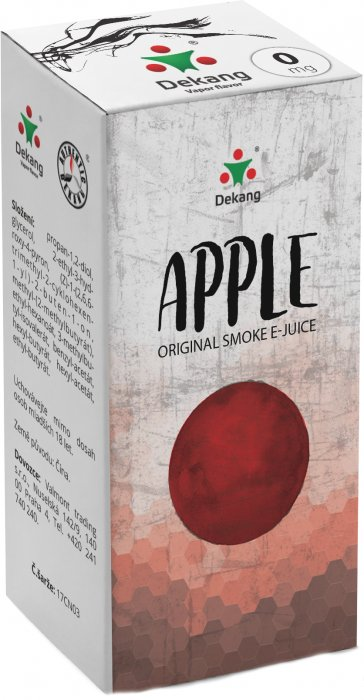 e-liquid Dekang Apple 10ml - 0mg (Jablko)