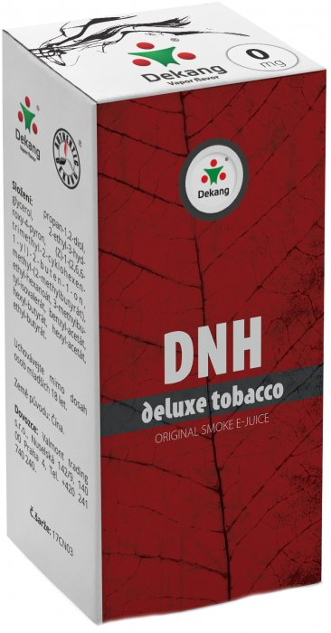 e-liquid Dekang DNH-deluxe tobacco 10ml - 0mg