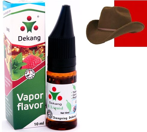 e-liquid Dekang SILVER RED USA mix 10ml - 16mg