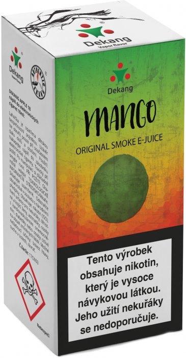 e-liquid Dekang Mango 10ml - 6mg (mango)