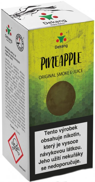 e-liquid Dekang Pineapple10ml - 6mg (Ananas)