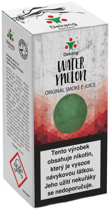e-liquid Dekang Watermelon 10ml-6mg (vodný melón)