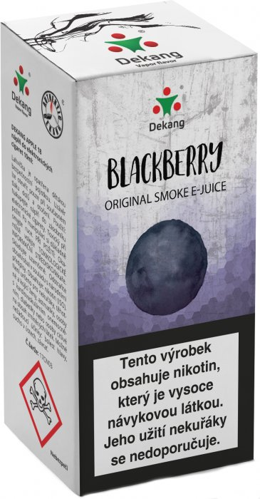 e-liquid Dekang Classic Blackberry 10ml - 11mg (černica)