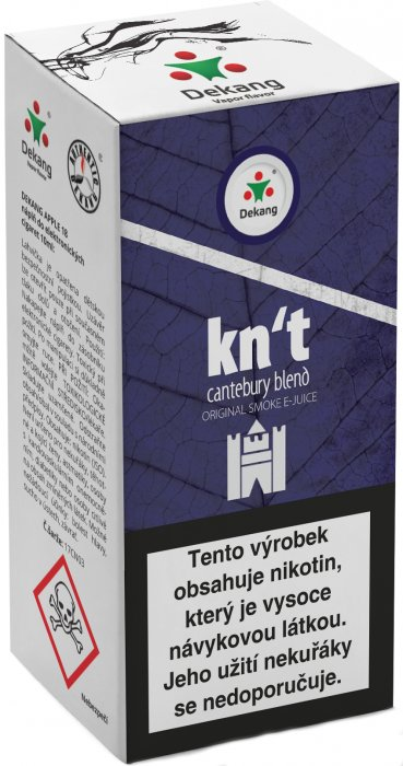 e-liquid Dekang Kn´t - cantebury blend 10ml - 11mg