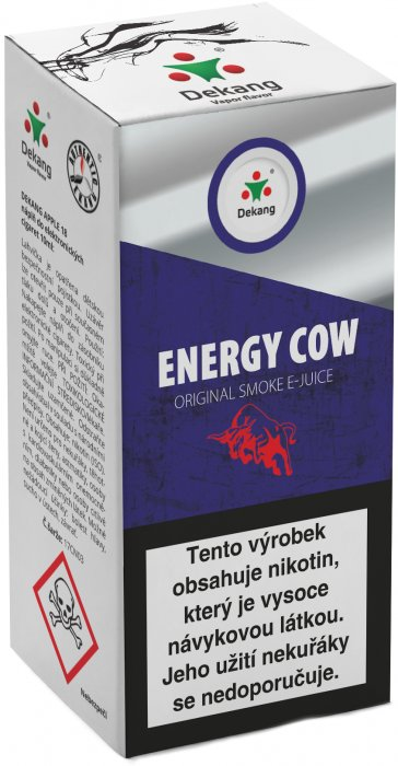 e-liquid Dekang Energy Cow 10ml - 16mg (energetický nápoj)
