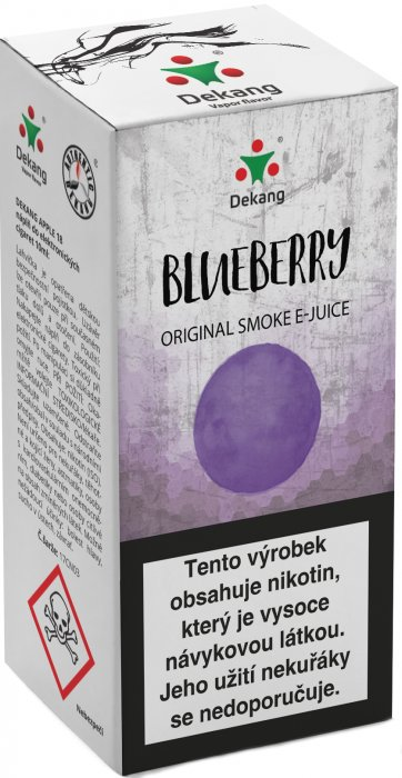 e-liquid Dekang Blueberry 10ml - 18mg (čučoriedka)