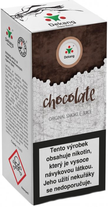 e-liquid Dekang Chocolate 10ml-18mg (Čokoláda)