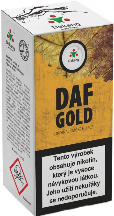 e-liquid Dekang DAF Gold 10ml - 18mg