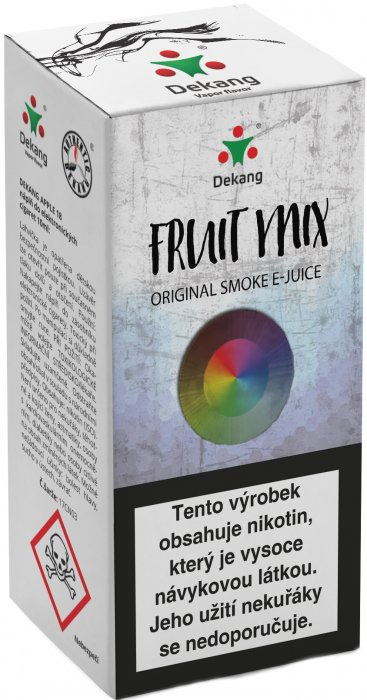 e-liquid Dekang Fruit Mix10ml - 18mg (Ovocný mix)