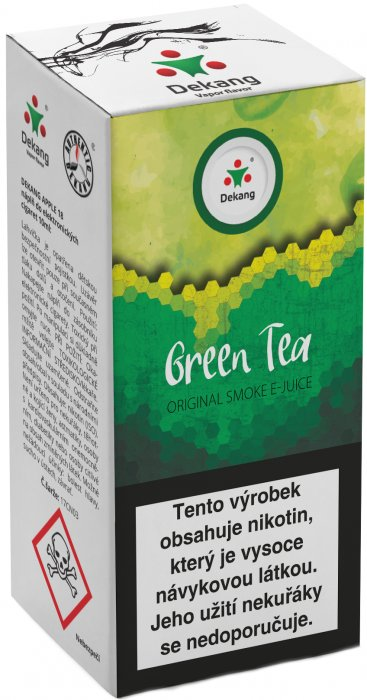 e-liquid Dekang Green Tea 10ml - 18mg (Zelený čaj)