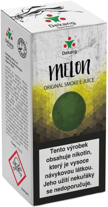 e-liquid Dekang Melon 10ml-18mg (žltý melón)