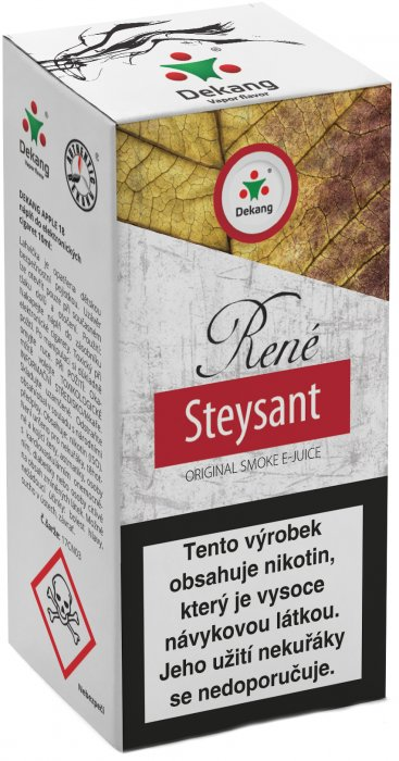 e-liquid Dekang René Steysant 10ml - 18mg