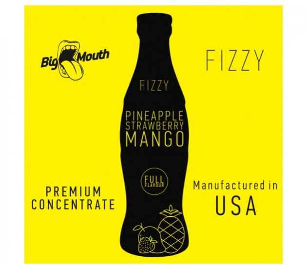 aróma pre e-liquid Big Mouth FIZZY - Pineapple Strawberry Mango  10ml