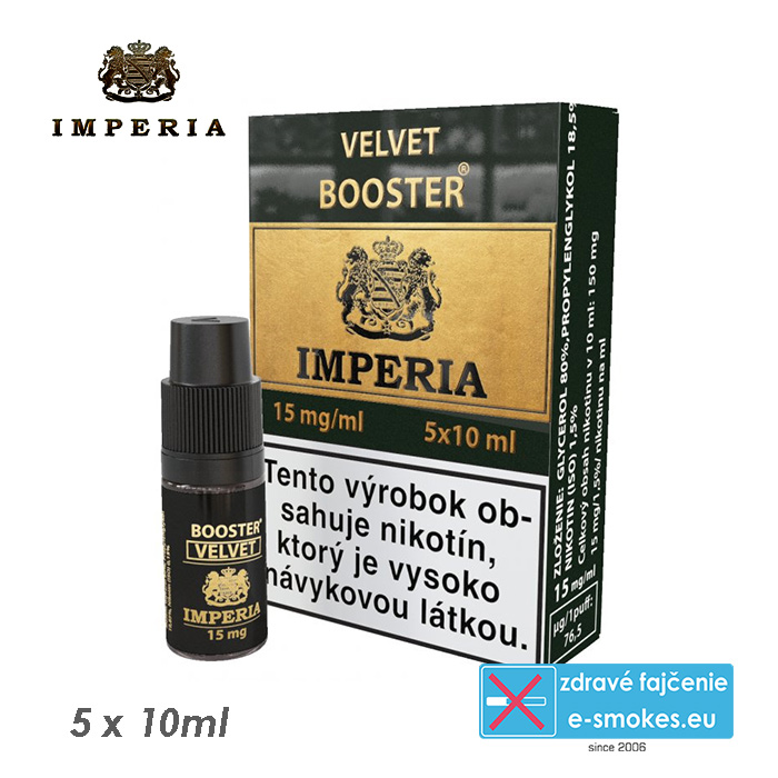 booster Imperia Velvet 20/80 5x10ml - 15mg