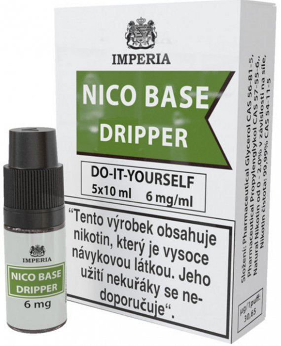 báza Imperia Dripper 30/70 5x10ml - 6mg