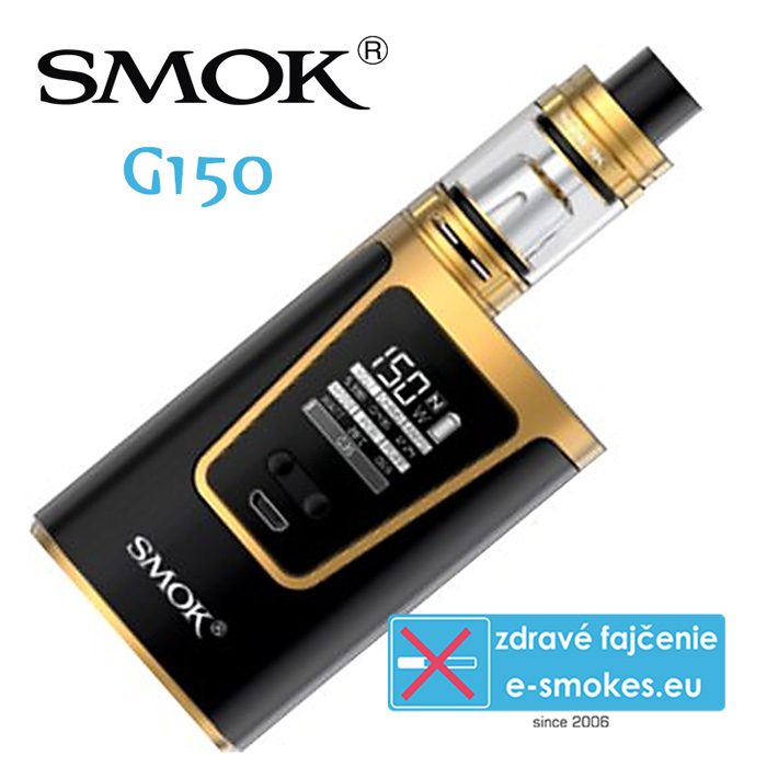 SmokTech full kit G150 - zlatý