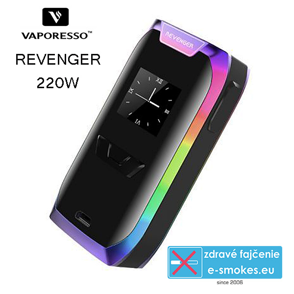 Vaporesso mod grip Revenger TC220W easy kit - rainbow
