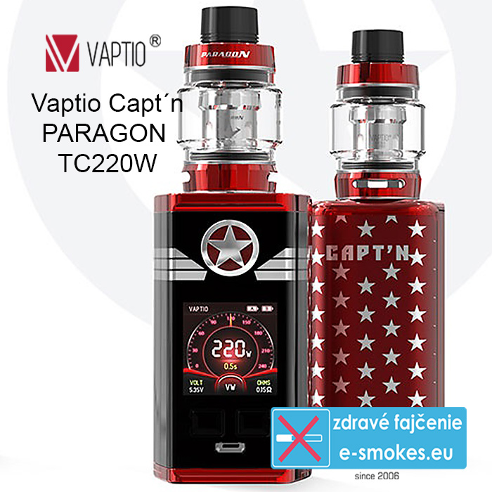 Vaptio kit Captn Paragon TC220W  - Red