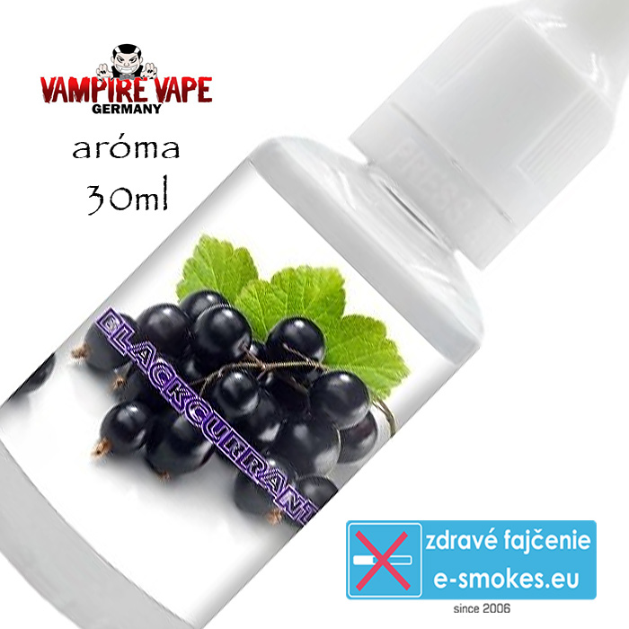Vampire Vape príchuť Blackcurrant – 30ml