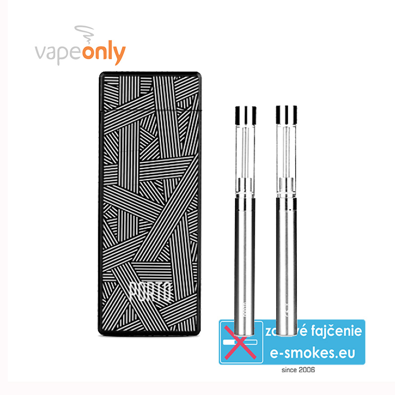 VapeOnly Porto PCC Kit 2x180mAh + 1x800mAh Black and White