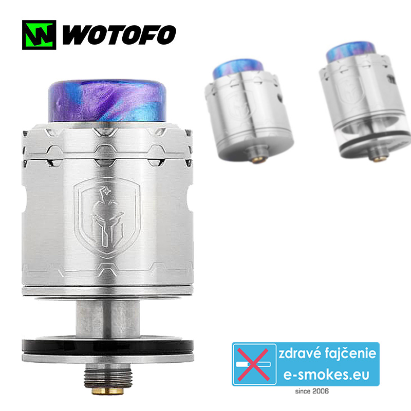 Wotofo clearomizér RDTA FARIS - Stainless steel