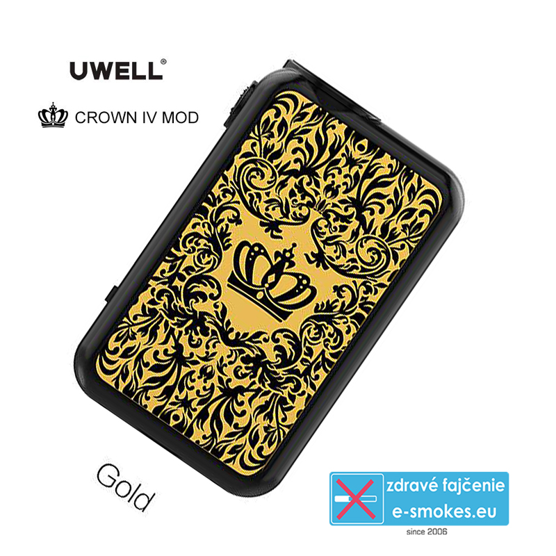 UWELL mod grip CROWN 4 TC200W - Gold
