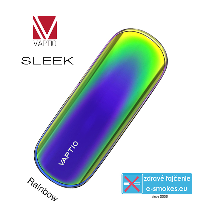 Vaptio elektronická cigareta SLEEK 400mAh Rainbow