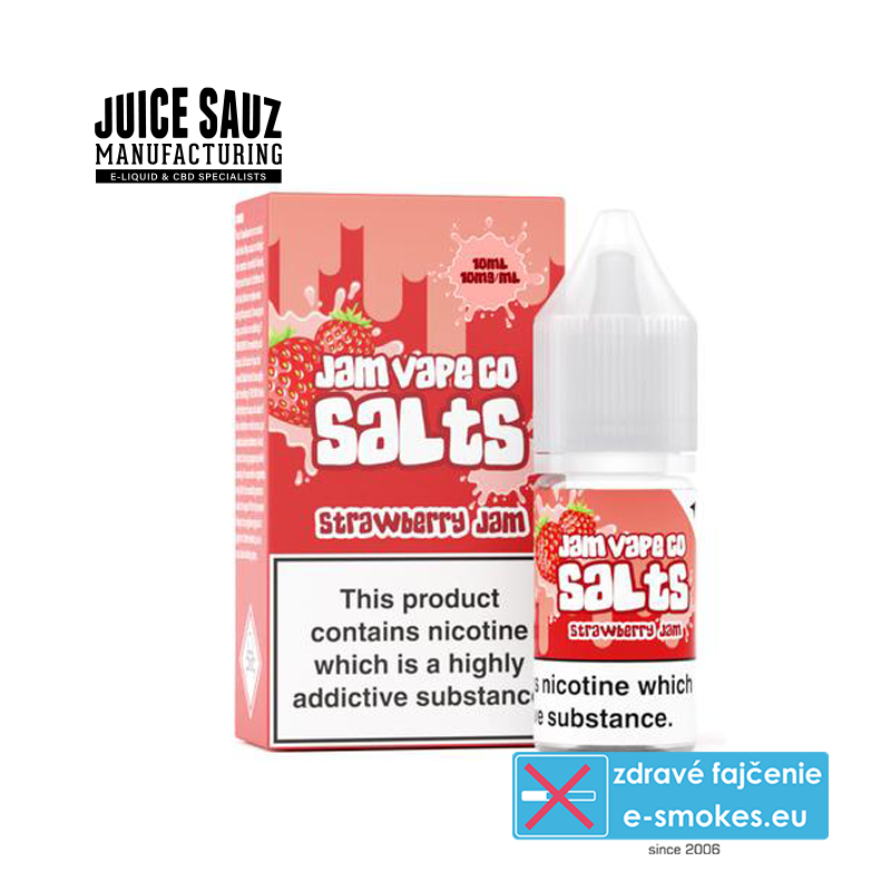 Juice Sauz e-liquid  The Jam Vape Co Strawberry Jam 10ml - 10mg