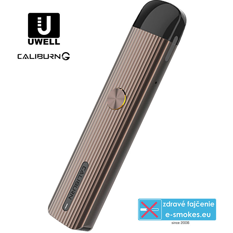UWELL CALIBURN G 690mAh - Rosy Brown