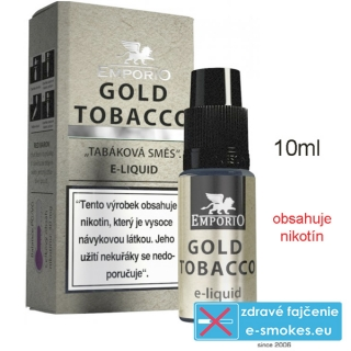 Liquid EMPORIO Gold Tobacco 10ml - 15mg