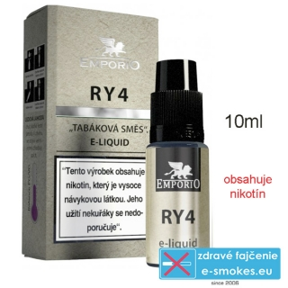 Liquid EMPORIO RY4 10ml - 12mg