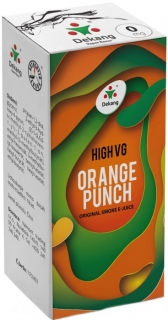 e-liquid Dekang High VG Orange Punch 10ml - 6mg (Pomaranč)