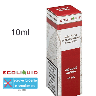Ecoliquid e-liquid Višeň 10ml 6mg