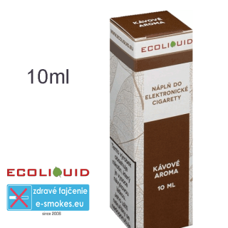 Ecoliquid e-liquid Káva 10ml 6mg