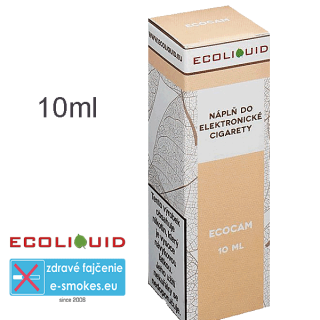Ecoliquid e-liquid ECOCAM 10ml 6mg