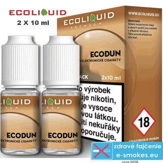 Ecoliquid e-liquid ECODUN 2 X 10ml 6mg