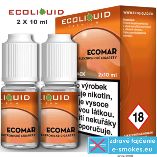 Ecoliquid e-liquid ECOMAR 2 X 10ml 18mg